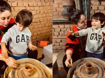 Kareena-Taimur bonding over pottery making is cutest thing on the Internet