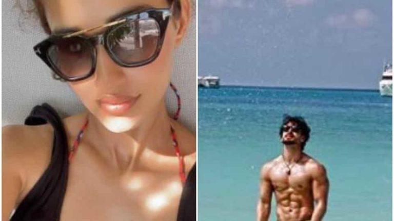Disha Patani and Tiger Shroff are vacationing.