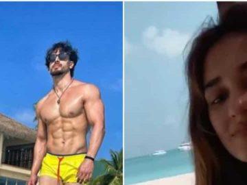 Disha Patani and Tiger Shroff seem to be holidaying in the Maldives.