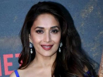 Actor Madhuri Dixit Nene's, who was last seen in the Bollywood film Kalank, is presently shooting for her Netflix series, which also marks her OTT debut.