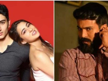 RamCharan tweeted to inform that he had tested positive to coronavirus. Sara Ali Khan spoke about her brother Ibrahim's acting debut in a recent interview.