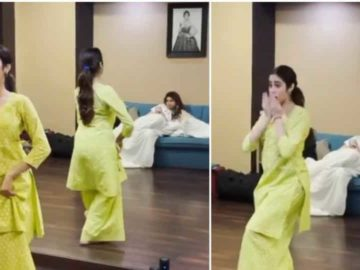 Janhvi Kapoor posted a fresh video with sister Khushi Kapoor.