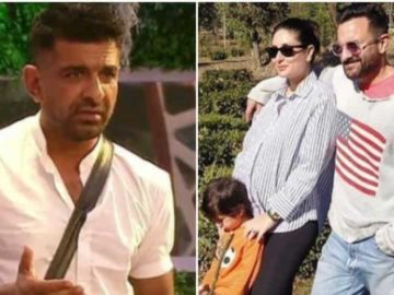Pictures of Kareena Kapoor and Saif Ali Khan walking in a Palampur village emerged online. Eijaz Khan claimed a fake dowry case was registered against his name.