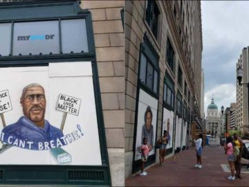 Artists, activists rush to save Black Lives Matter murals
