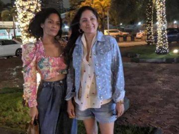 Masaba Gupta with her motherNeena Gupta.