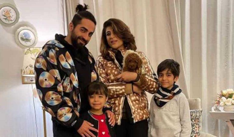أيوشمان خورانا ، طاهرة كاشياب ترحب بالعام الجديد مع صورة عائلية: 2021 سعيدة!  أتمنى أن تزدهر الإنسانية '- بوليوود