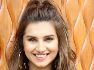 Actor Tara Sutaria started shooting her upcoming film, Tadap, amid the pandemic.