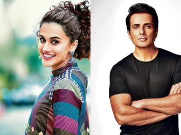 Actors Taapsee Pannu and Sonu Sood tell us their New Year resolution.