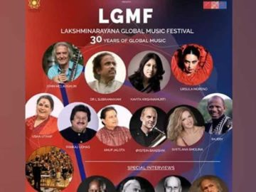 This festival was started in 1992 by Viji Subramaniam & Dr L Subramaniam, in memory of Prof. V Lakshminarayana, father and guru of Dr L Subramaniam.