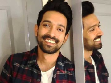 Vikrant Massey reminisced about giving his first shot as an actor.