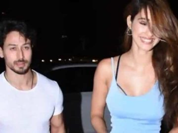 Tiger Shroff and Disha Patani spotted together in Mumbai.