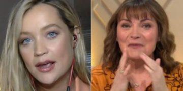 تبدو لورا وايتمور في حالة صدمة حيث يبدو أن لورين كيلي تعلن عن طريق الخطأ جنس طفلها الذي لم يولد بعد